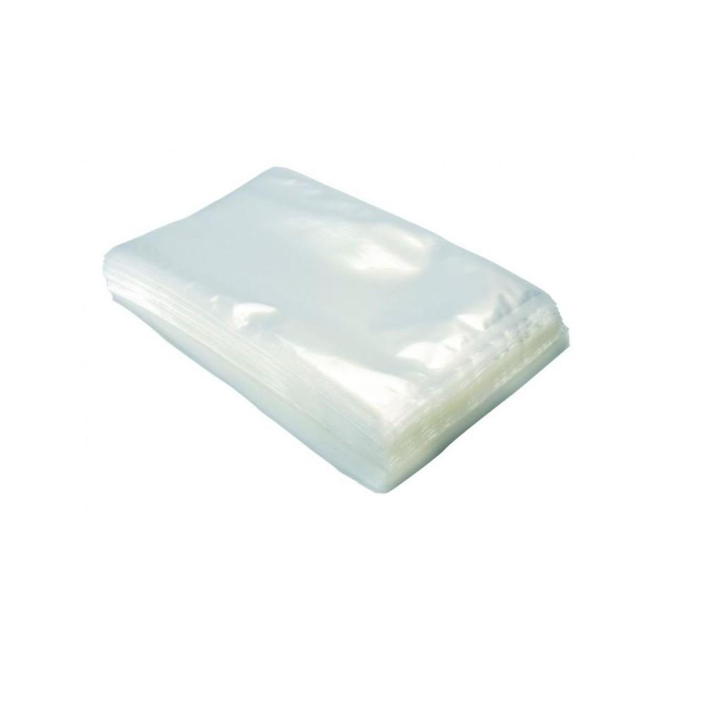 100 Sacchetti 20x30 Buste per Sottovuoto Goffrati per Alimenti 100 micron
