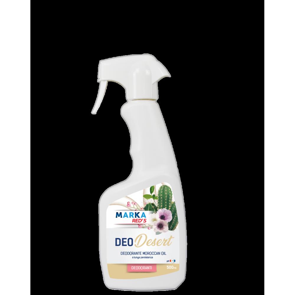 Marka DEO DESERT 500ml Fragranza MOROCCAN OIL