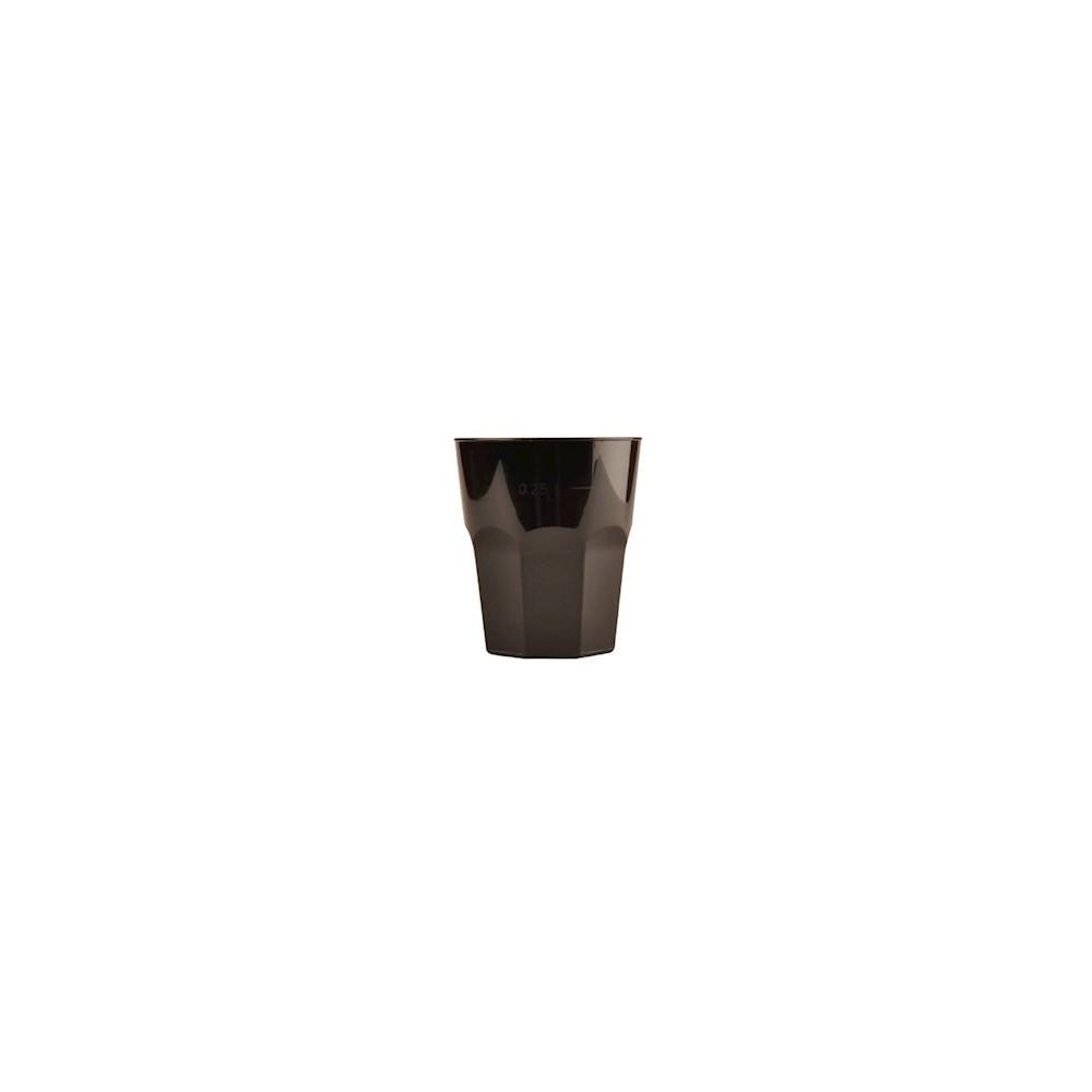 Bicchiere liquore 50cc GoldPlast Nero - 50pz