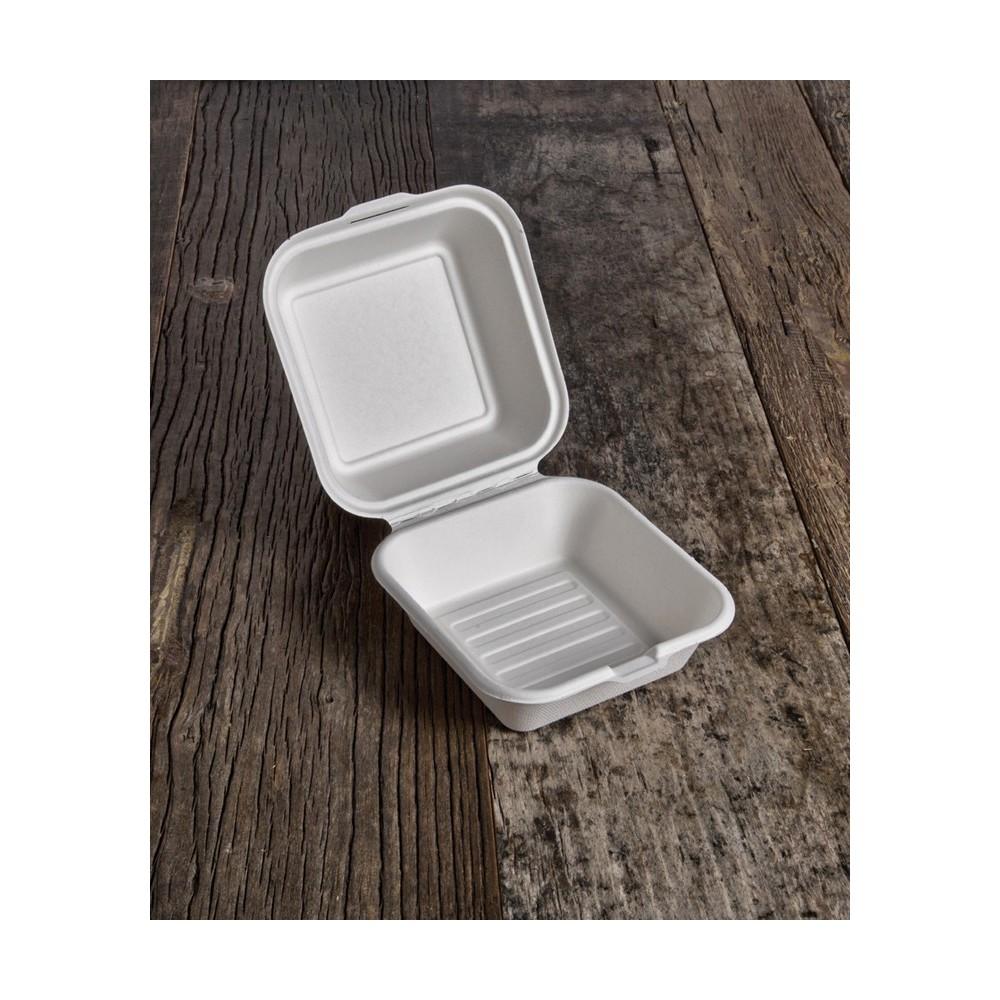 Contenitore hamburger BIO (400 ml) 50pz