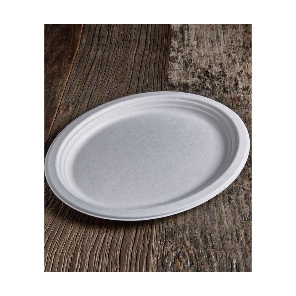 Piatto ovale per pizza BIO (Ø31,8×25,5 cm) 50pz