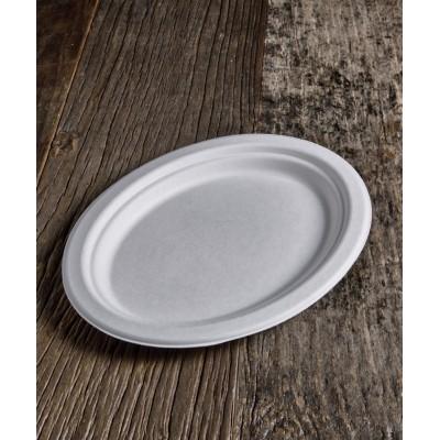 Piatto ovale BIO (Ø26,3×19,9 cm) 50pz